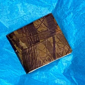 NWOT Camouflage Duct Tape Wallet